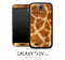 Furry Giraffe Skin for the Galaxy S4