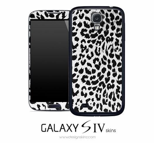 Snow Leopard Skin for the Galaxy S4