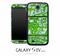 Green Chipping Paint Skin for the Galaxy S4