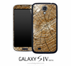 Cracked Wood Skin for the Galaxy S4