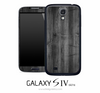 Dark Wood Skin for the Galaxy S4