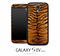 Tiger Fur Skin for the Galaxy S4