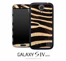 Zebra Print Skin for the Galaxy S4