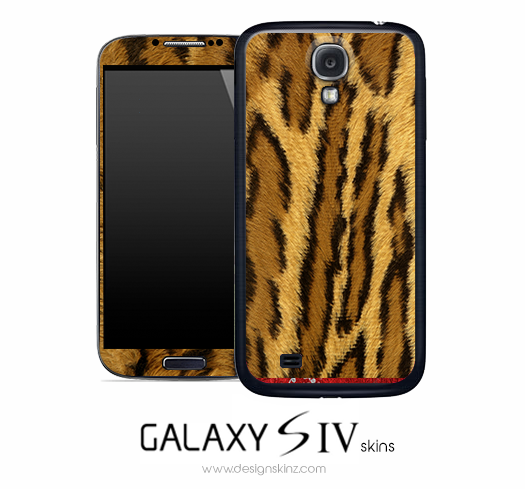 Wild Cat Skin for the Galaxy S4