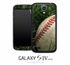 Grassy Baseball Skin for the Galaxy S4