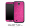 Pink Glitter Skin for the Galaxy S4