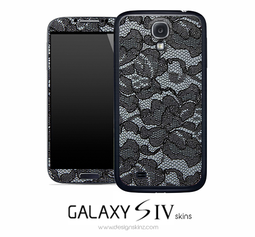 Dark Lace Skin for the Galaxy S4