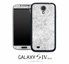 White Lace Skin for the Galaxy S4