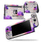 Geometric Rain Clouds - Skin Wrap Decal for Nintendo Switch Lite Console & Dock - 3DS XL - 2DS - Pro - DSi - Wii - Joy-Con Gaming Controller