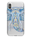 Geometric Sacred Elephant - Crystal Clear Hard Case for the iPhone XS MAX, XS & More (ALL AVAILABLE)