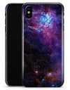 Glowing Deep Space - iPhone X Clipit Case