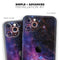 Glowing Deep Space - Skin-Kit for the Apple iPhone 11, 11 Pro or 11 Pro Max