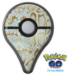 Gold Flaked Animal Laced Pokémon GO Plus Vinyl Protective Decal Skin Kit