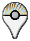 Gold Flaked Animal blue Zebra 2 Pokémon GO Plus Vinyl Protective Decal Skin Kit