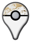 Gold Foiled Marble v1 Pokémon GO Plus Vinyl Protective Decal Skin Kit