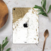 "Gold Foiled Marble v1 - Full Body Skin Decal for the Apple iPad Pro 12.9"", 11"", 10.5"", 9.7"", Air or Mini (All Models Available)"