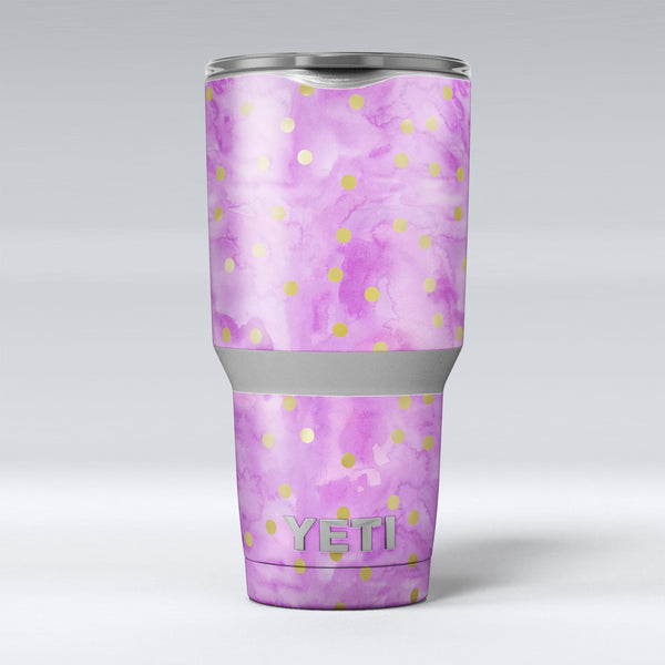 Gold_Polka_Dots_Over_Grungy_Pink_Surface_-_Yeti_Rambler_Skin_Kit_-_30oz_-_V1.jpg