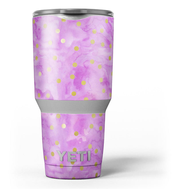 Gold_Polka_Dots_Over_Grungy_Pink_Surface_-_Yeti_Rambler_Skin_Kit_-_30oz_-_V3.jpg