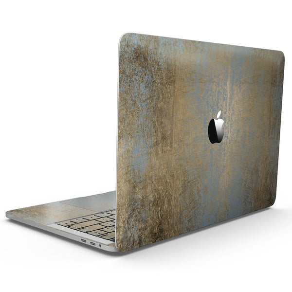MacBook Pro with Touch Bar Skin Kit - Gold_Scratched_Foil_v1-MacBook_13_Touch_V9.jpg?