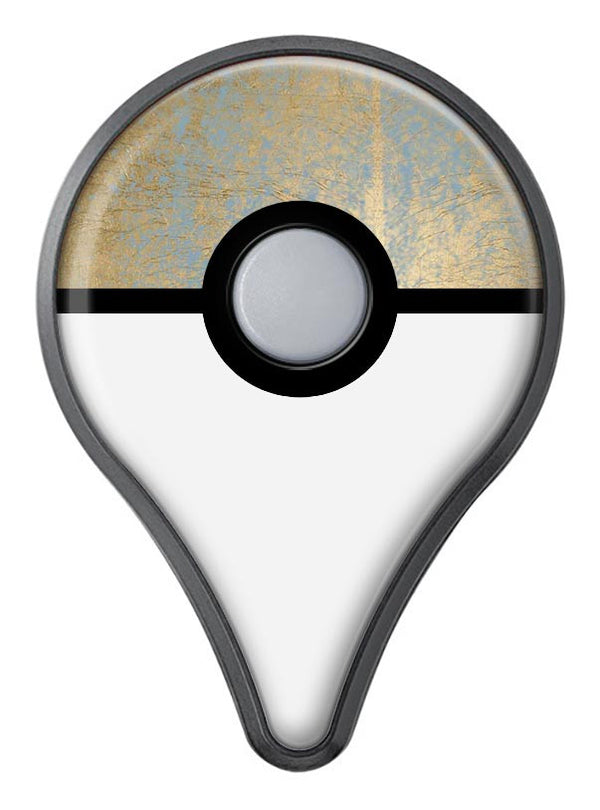 Gold Scratched Foil v1 Pokémon GO Plus Vinyl Protective Decal Skin Kit