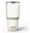 Gold Slate Marble Surface V18 Yeti Rambler Skin Kit