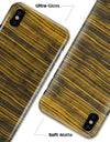 Gold Standard ZebraWood V2 - iPhone X Clipit Case