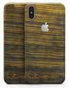 Gold Standard ZebraWood V2 - iPhone X Skin-Kit