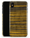 Gold Standard ZebraWood - iPhone X Clipit Case