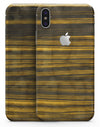 Gold Standard ZebraWood - iPhone X Skin-Kit
