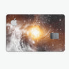 Golden Space Swirl - Premium Protective Decal Skin-Kit for the Apple Credit Card