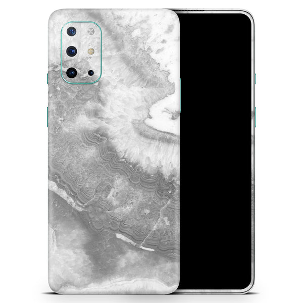 Gray Slate Marble V26 - Full Body Skin Decal Wrap Kit for OnePlus Phones