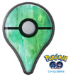 Green 2 Absorbed Watercolor Texture Pokémon GO Plus Vinyl Protective Decal Skin Kit
