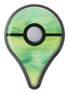 Green 321 Absorbed Watercolor Texture Pokémon GO Plus Vinyl Protective Decal Skin Kit