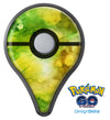 Green 863 Absorbed Watercolor Texture Pokémon GO Plus Vinyl Protective Decal Skin Kit