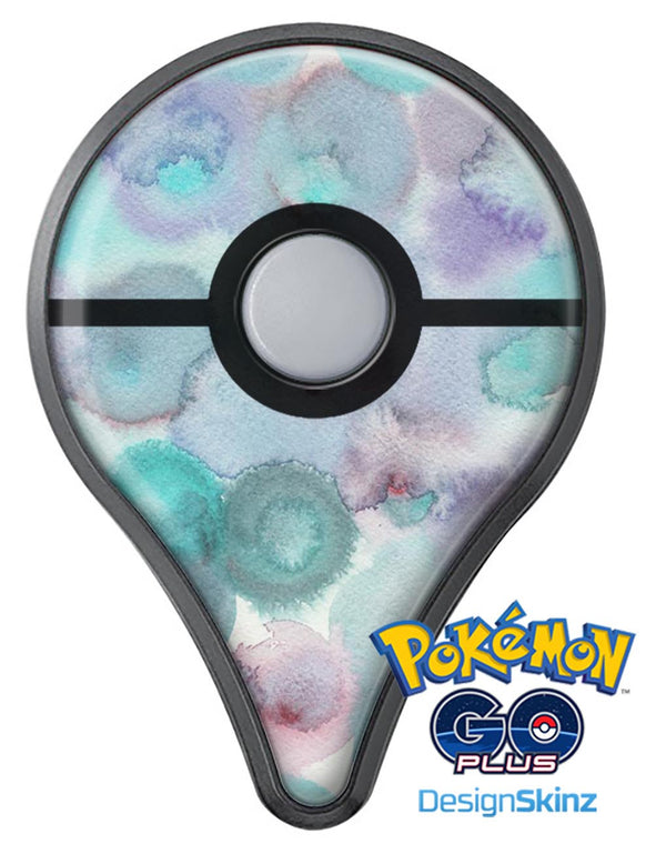 Green Blotted WaterColor Texture Pokémon GO Plus Vinyl Protective Decal Skin Kit