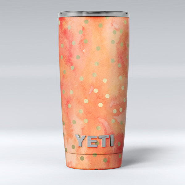 Green_Polka_Dots_Over_Water_Colored_Fire_-_Yeti_Rambler_Skin_Kit_-_20oz_-_V1.jpg