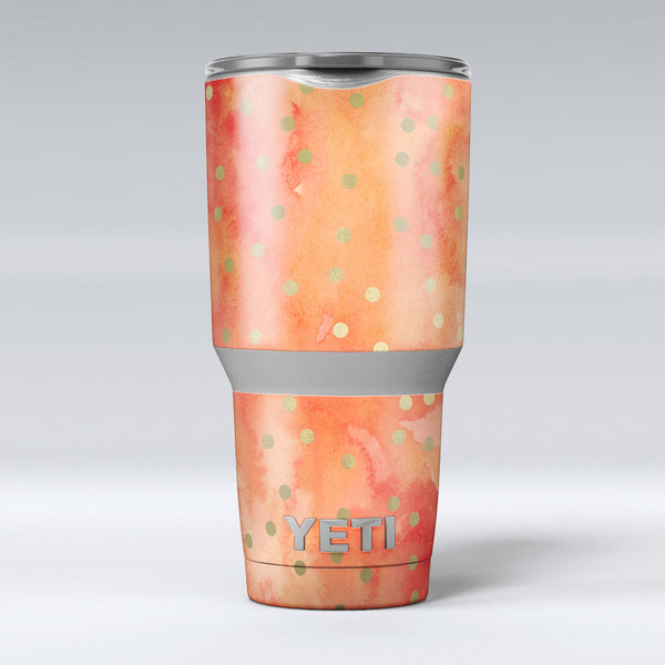 Green_Polka_Dots_Over_Water_Colored_Fire_-_Yeti_Rambler_Skin_Kit_-_30oz_-_V1.jpg