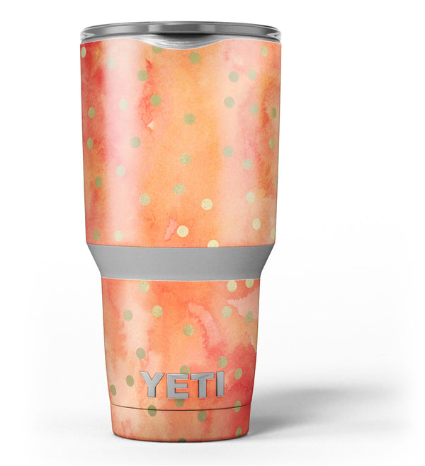 Green_Polka_Dots_Over_Water_Colored_Fire_-_Yeti_Rambler_Skin_Kit_-_30oz_-_V3.jpg