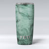 Green Slate Marble Surface V16 Yeti Rambler Skin Kit