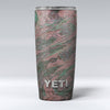 Green Slate Marble Surface V46 Yeti Rambler Skin Kit