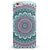Green and Pink Circle Mandala v9 iPhone 6/6s or 6/6s Plus INK-Fuzed Case