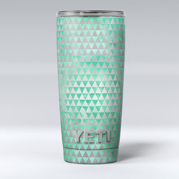 Green_and_Silver_Watercolor_Triangle_Pattern_-_Yeti_Rambler_Skin_Kit_-_20oz_-_V1.jpg