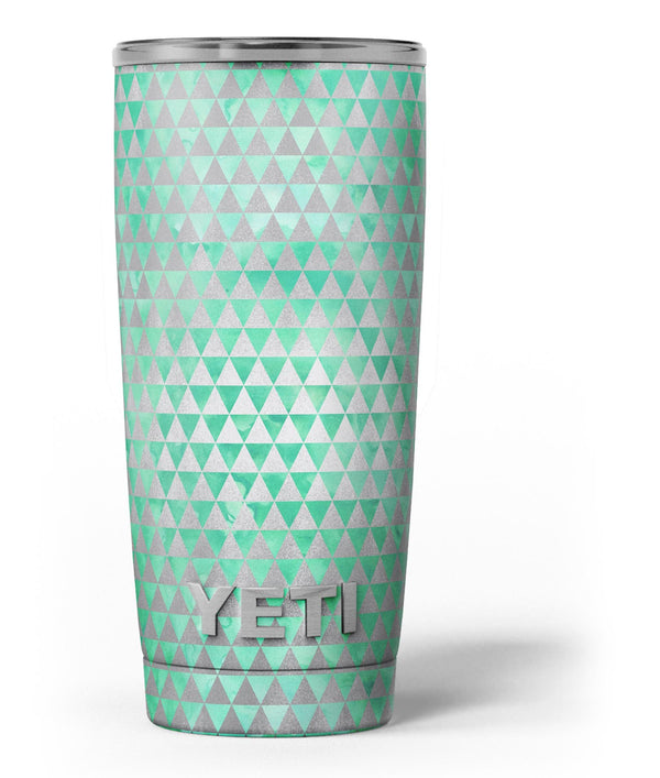 Green_and_Silver_Watercolor_Triangle_Pattern_-_Yeti_Rambler_Skin_Kit_-_20oz_-_V3.jpg