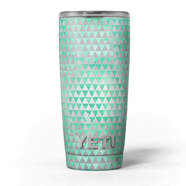 Green_and_Silver_Watercolor_Triangle_Pattern_-_Yeti_Rambler_Skin_Kit_-_20oz_-_V5.jpg