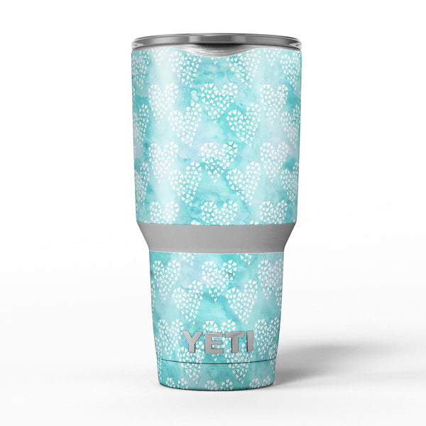 Green_and_White_Watercolor_Hearts_Pattern_-_Yeti_Rambler_Skin_Kit_-_30oz_-_V5.jpg