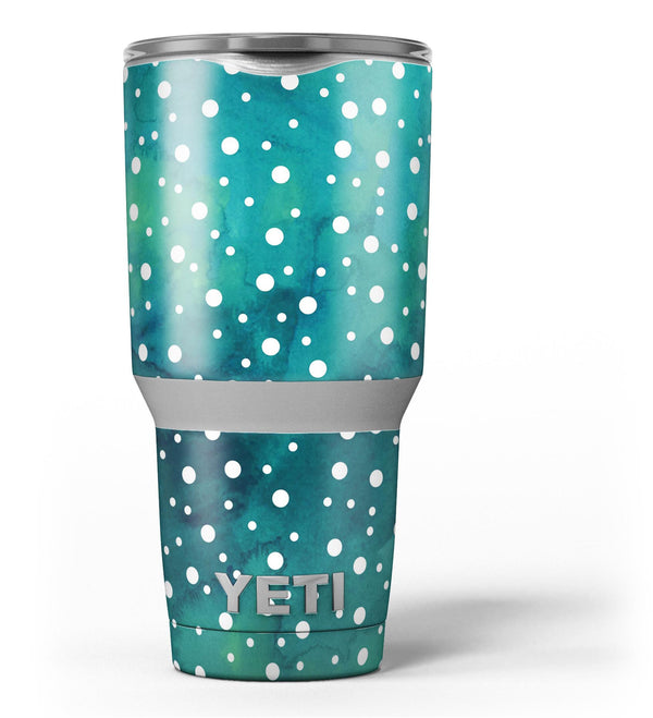Green_and_White_Watercolor_Polka_Dots_-_Yeti_Rambler_Skin_Kit_-_30oz_-_V3.jpg