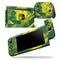 Green and Yellow Geometric Shapes - Skin Wrap Decal for Nintendo Switch Lite Console & Dock - 3DS XL - 2DS - Pro - DSi - Wii - Joy-Con Gaming Controller