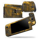 Grunge Golden Hour - Skin Wrap Decal for Nintendo Switch Lite Console & Dock - 3DS XL - 2DS - Pro - DSi - Wii - Joy-Con Gaming Controller