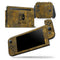 Grunge Golden Watercolor V1 - Skin Wrap Decal for Nintendo Switch Lite Console & Dock - 3DS XL - 2DS - Pro - DSi - Wii - Joy-Con Gaming Controller