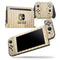 Grunge Mustard Yellow Chevron - Skin Wrap Decal for Nintendo Switch Lite Console & Dock - 3DS XL - 2DS - Pro - DSi - Wii - Joy-Con Gaming Controller